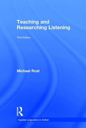 Teaching and Researching Listening: Third Edition (Hardback) book cover