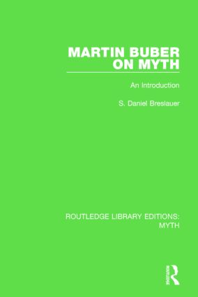 Martin Buber on Myth (RLE Myth): An Introduction book cover