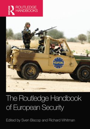 The Routledge Handbook of European Security: 1st Edition (Paperback) book cover