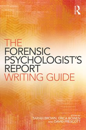 The Forensic Psychologist's Report Writing Guide book cover