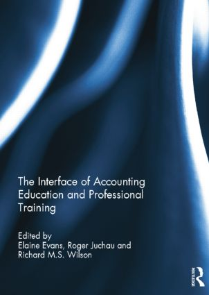 The Interface of Accounting Education and Professional Training book cover