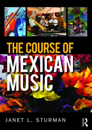 The Course of Mexican Music (Paperback) book cover
