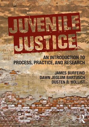 Juvenile Justice: An Introduction to Process, Practice, and Research book cover