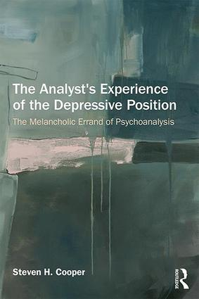 """The melancholic errand of psychoanalysis: Exploring the analyst's """"good enough"""" experiences of repetition"""