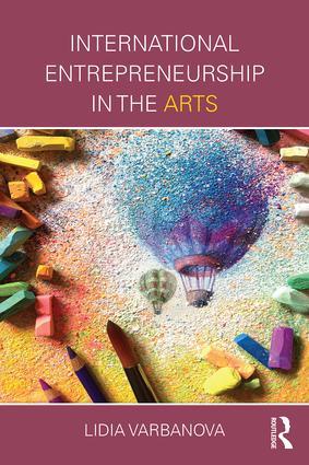 International Entrepreneurship in the Arts book cover