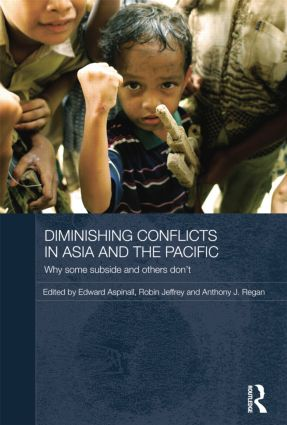Diminishing Conflicts in Asia and the Pacific: Why Some Subside and Others Don't, 1st Edition (Paperback) book cover