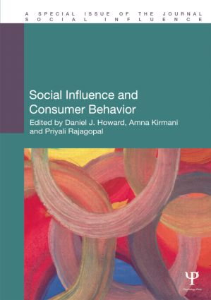 Social Influence and Consumer Behavior book cover