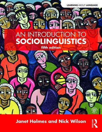 An Introduction to Sociolinguistics book cover