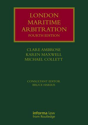 London Maritime Arbitration book cover