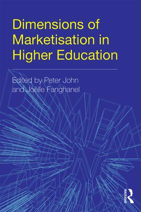 Dimensions of Marketisation in Higher Education: 1st Edition (Paperback) book cover