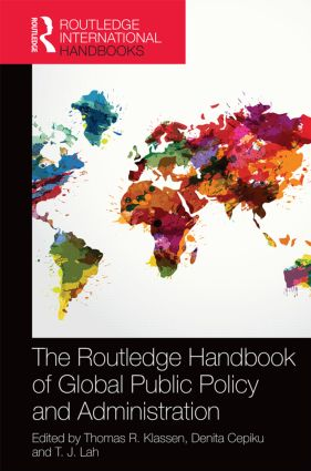 The Routledge Handbook of Global Public Policy and Administration (Hardback) book cover