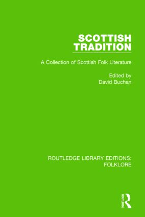 Scottish Tradition Pbdirect: A Collection of Scottish Folk Literature, 1st Edition (Paperback) book cover