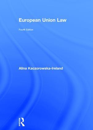 European Union Law book cover