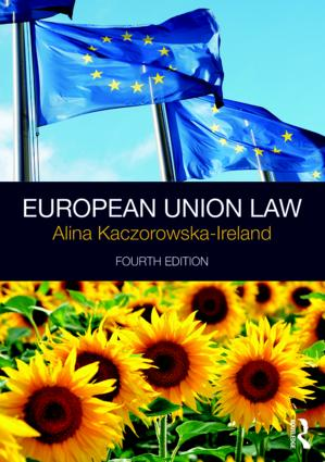 European Union Law: 4th Edition (e-Book) book cover
