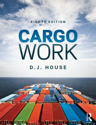 Cargo Work: For Maritime Operations, 8th Edition (Paperback) book cover
