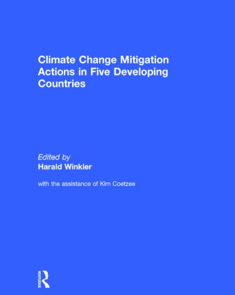 Climate Change Mitigation Actions in Five Developing Countries book cover