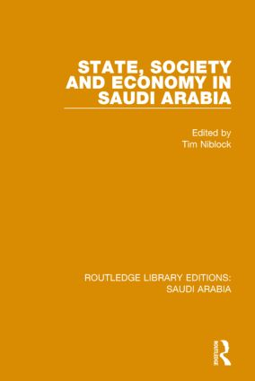 State, Society and Economy in Saudi Arabia Pbdirect book cover