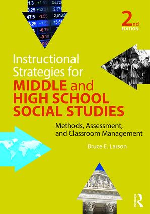 Instructional Strategies for Middle and High School Social Studies: Methods, Assessment, and Classroom Management, 2nd Edition (Paperback) book cover