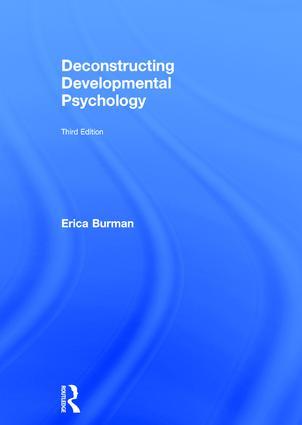 Deconstructing Developmental Psychology book cover