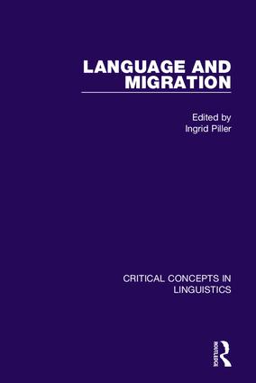 Language and Migration: 1st Edition (Hardback) book cover