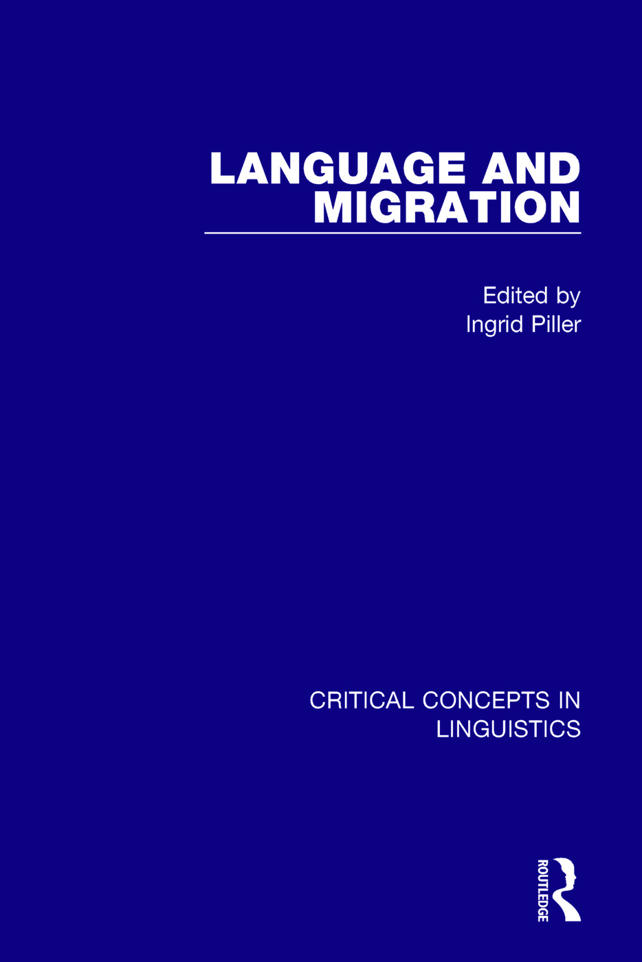 Language and Migration Vol III: 1st Edition (Hardback) book cover