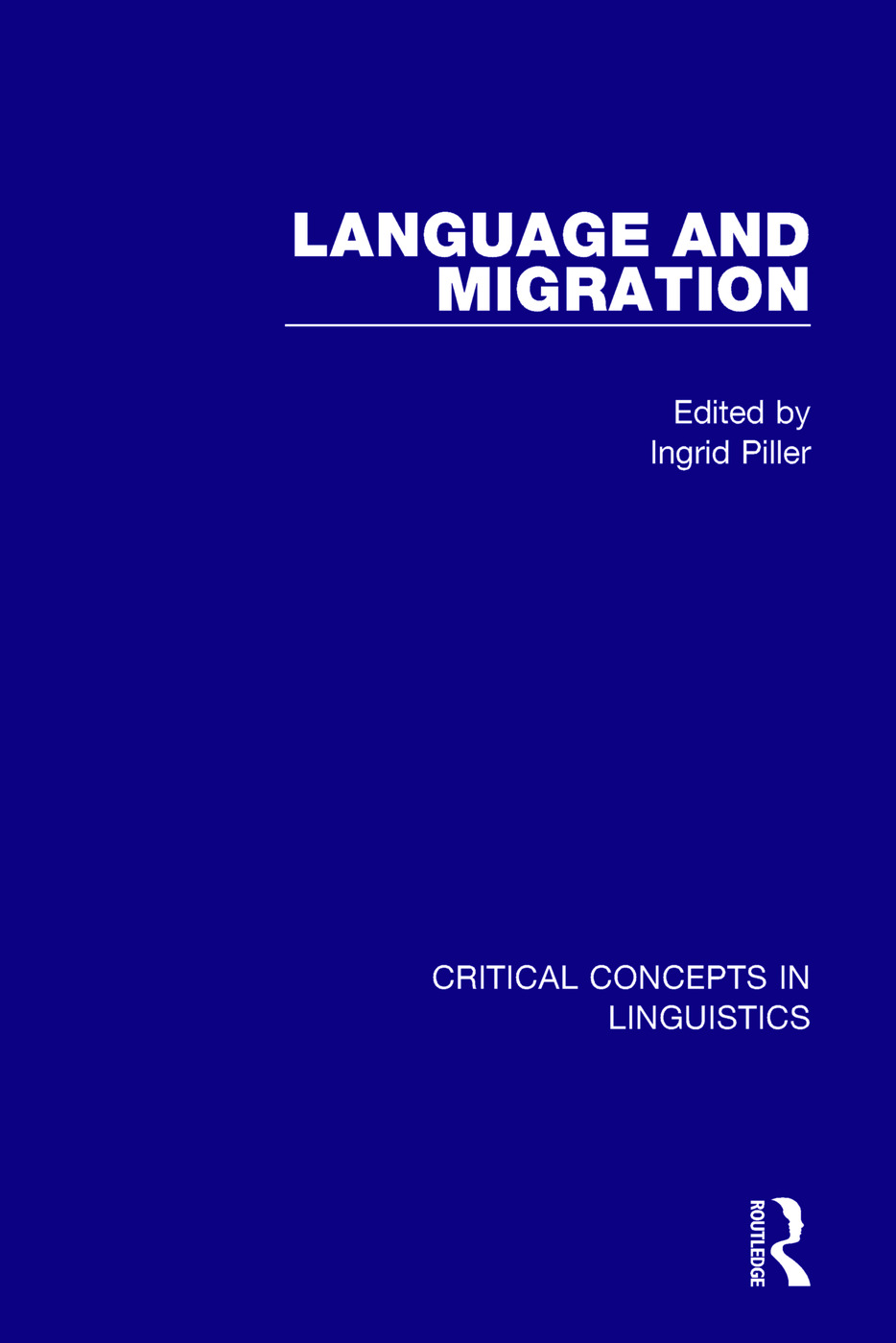 Language and Migration Vol IV: 1st Edition (Hardback) book cover