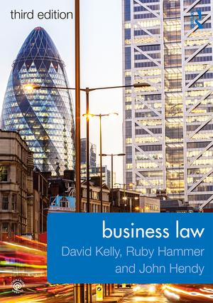 Business Law: 3rd Edition (Paperback) book cover