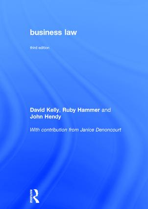 Business Law: 3rd Edition (Hardback) book cover