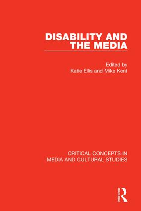 Disability and the Media (Hardback) book cover