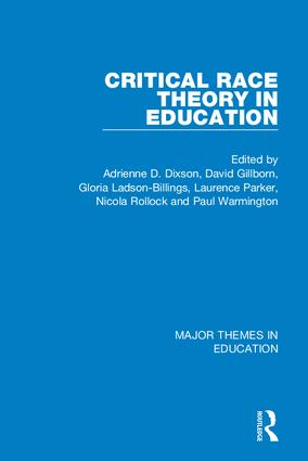 Critical Race Theory in Education (4-vol. set) book cover