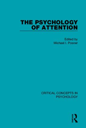 The Psychology of Attention book cover