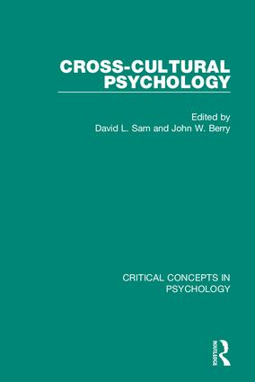 Cross-Cultural Psychology book cover