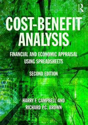 Cost-Benefit Analysis: Financial And Economic Appraisal Using Spreadsheets book cover