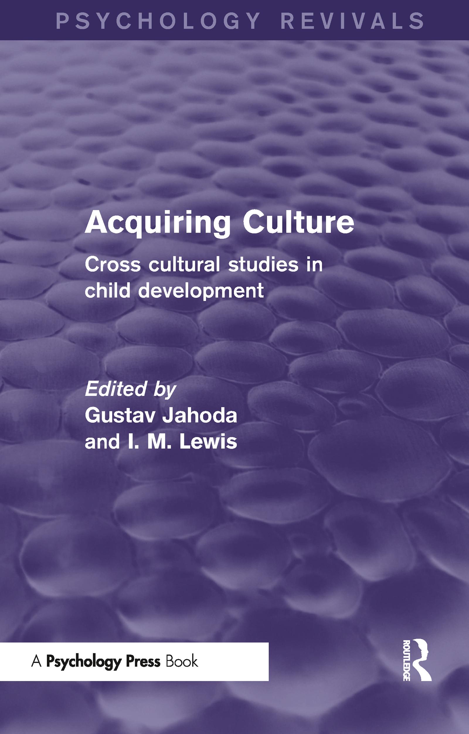 Acquiring Culture (Psychology Revivals)