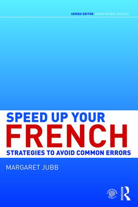Speed up your French: Strategies to Avoid Common Errors book cover