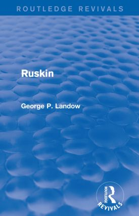 Ruskin (Routledge Revivals) book cover