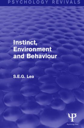 Instinct, Environment and Behaviour: 1st Edition (Paperback) book cover