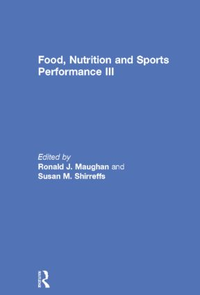 Food, Nutrition and Sports Performance III book cover