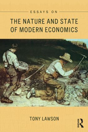 Essays on: The Nature and State of Modern Economics book cover