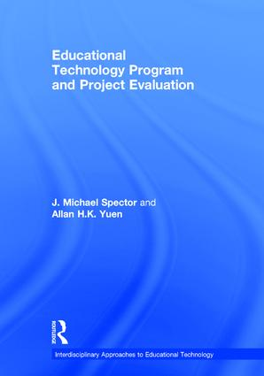 Educational Technology Program and Project Evaluation book cover