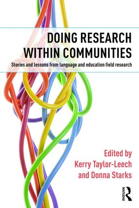 Doing Research within Communities: Stories and lessons from language and education field research, 1st Edition (Hardback) book cover