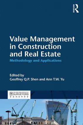 Value Management in Construction and Real Estate: Methodology and Applications, 1st Edition (Paperback) book cover
