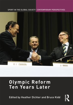 Olympic Reform Ten Years Later book cover