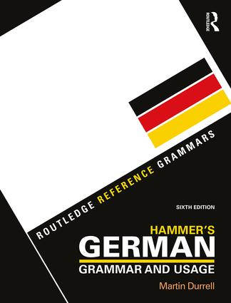 Hammer's German Grammar and Usage: 6th Edition (Paperback) book cover