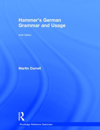 Hammer's German Grammar and Usage: 6th Edition (Hardback) book cover