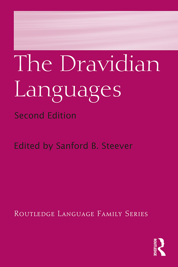 The Dravidian Languages: 2nd Edition (Hardback) book cover