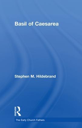 Basil of Caesarea: 1st Edition (Hardback) book cover