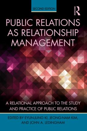 Public Relations As Relationship Management: A Relational Approach To the Study and Practice of Public Relations, 2nd Edition (Paperback) book cover