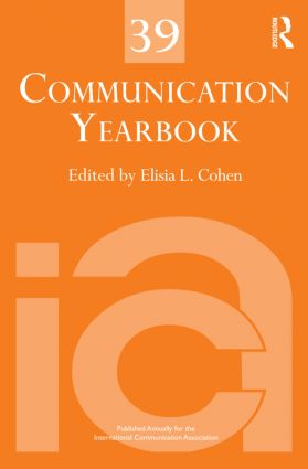 Communication Yearbook 39 (Hardback) book cover
