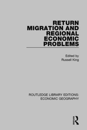 Return Migration and Regional Economic Problems book cover